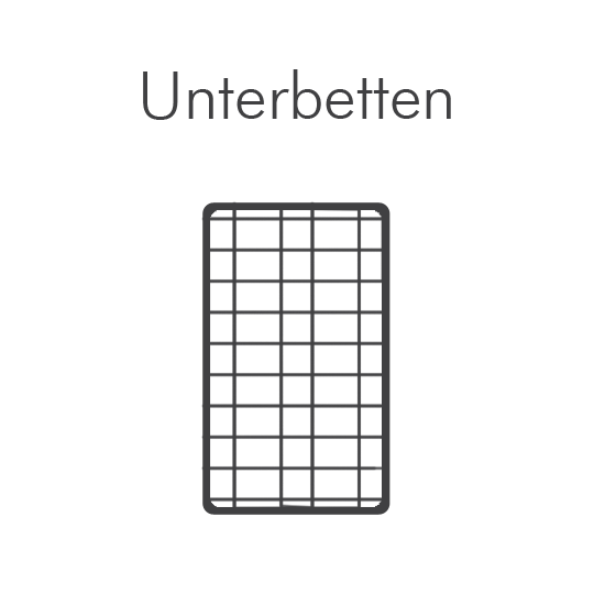 Unterbetten